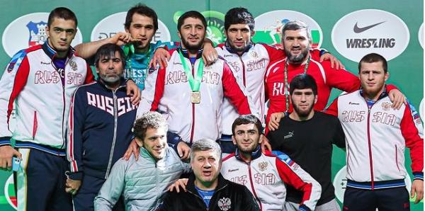 Русия спечели отборно и в свободния стил на Световната купа по борба