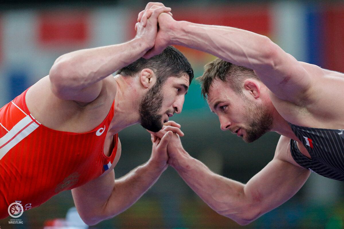 Садулаев и Русия тренират с Азербайджан за Игрите в Токио (СНИМКИ)