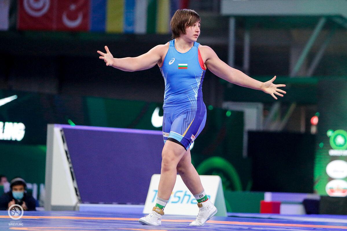 Юлияна Янева със сребърен медал от европейското