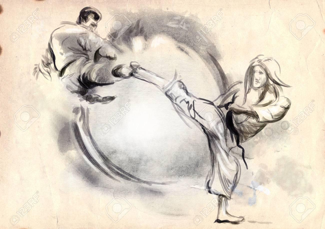 Eгото и бойните спортове