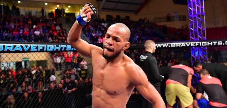 Гвиана вече има боец в UFC