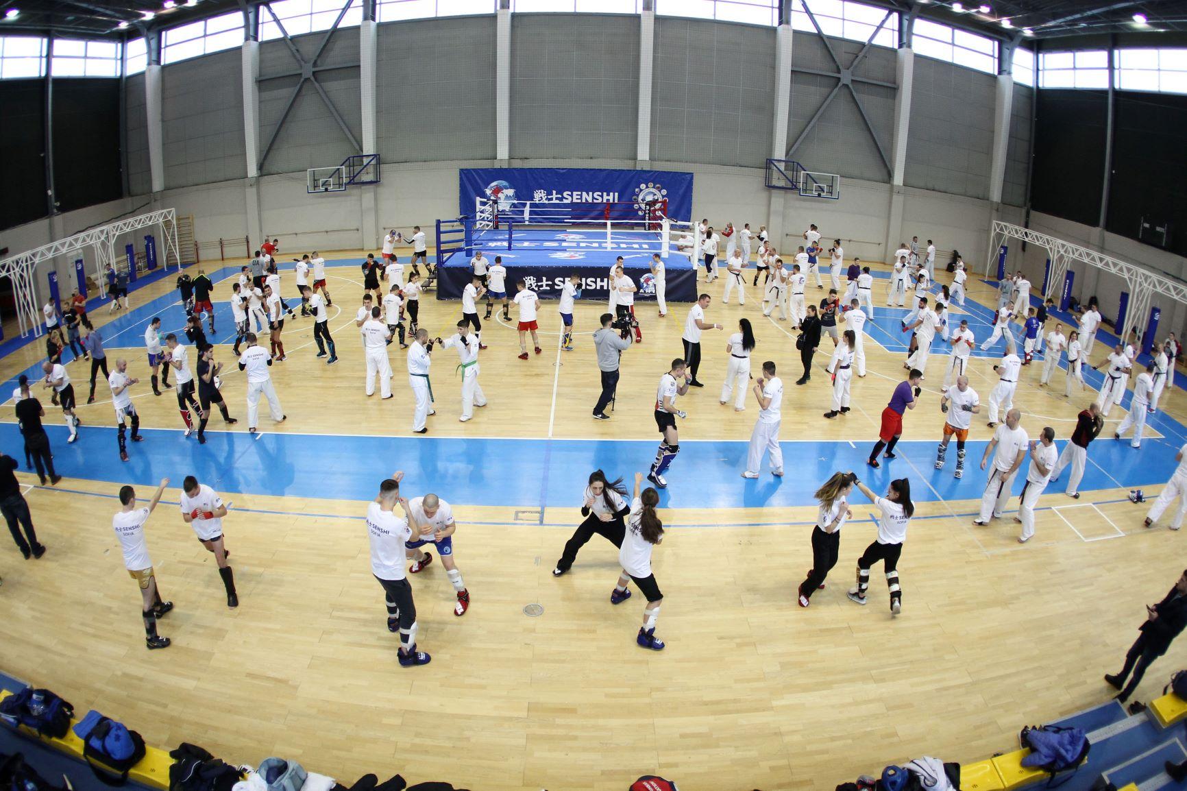 Национали от две федерации се явиха на лагера на KWU Професионална лига