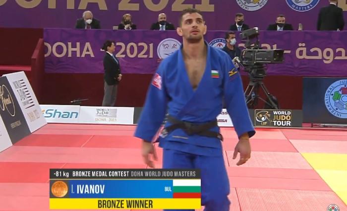 Ивайло Иванов завоюва бронз от Мастърса в Доха