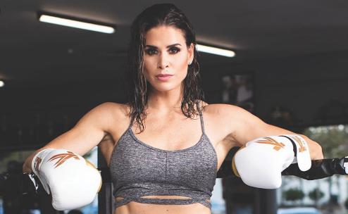 Красавица ще дебютира в UFC (СНИМКИ)