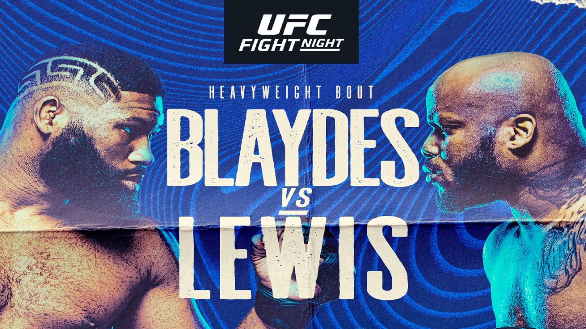 Люис по-тежък от Блейдс, една битка от UFC Вегас 19 пропадна (ВИДЕО)