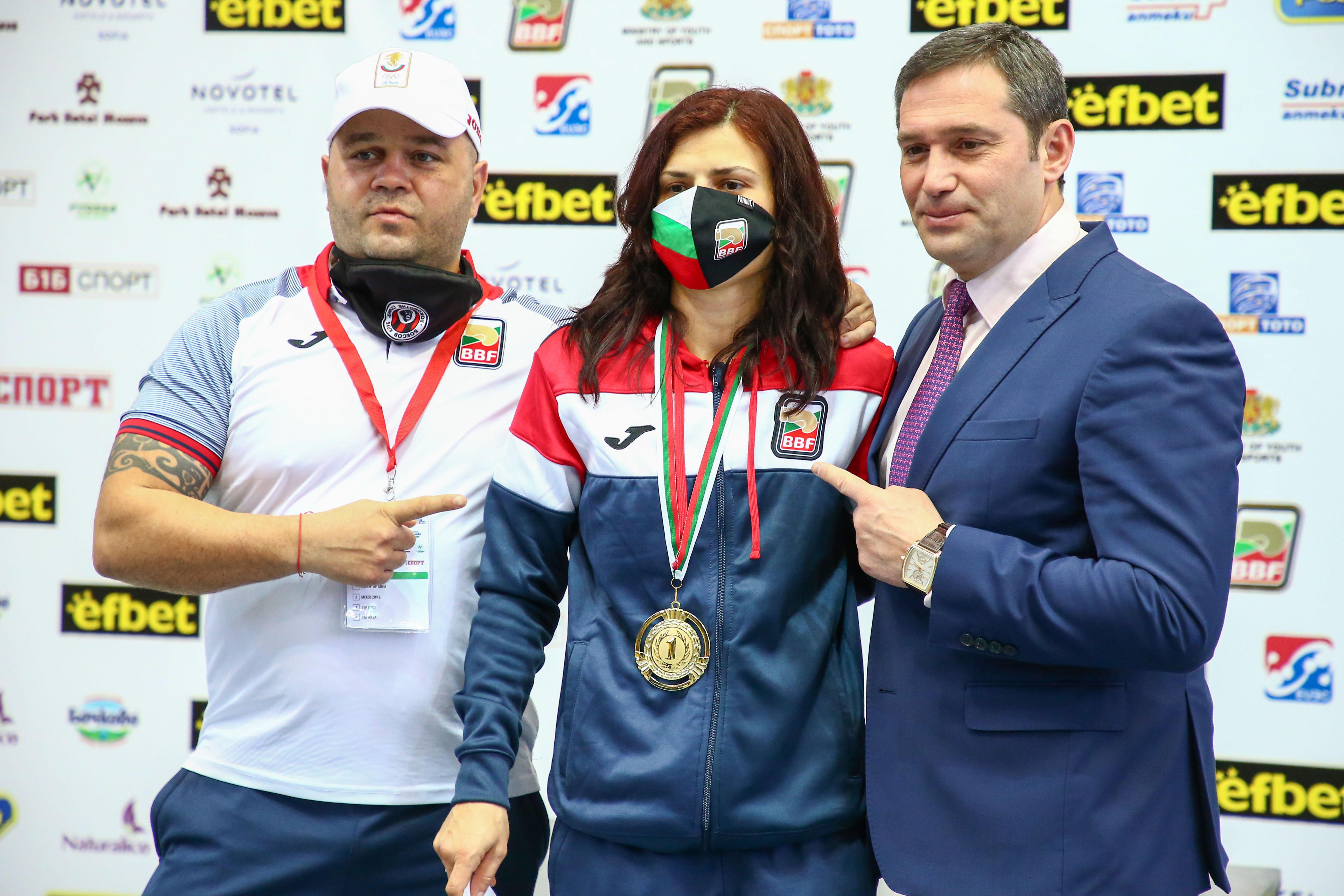 Стойка Кръстева се класира за Олимпийските игри в Токио