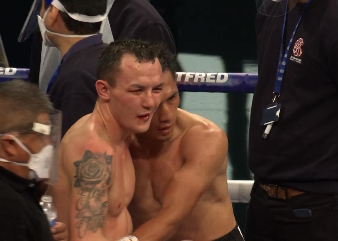 Уорингтън е със счупена челюст след загубата от Лара