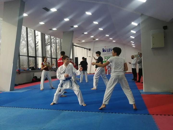 Националите в олимпийското карате направиха първи лагер за годината