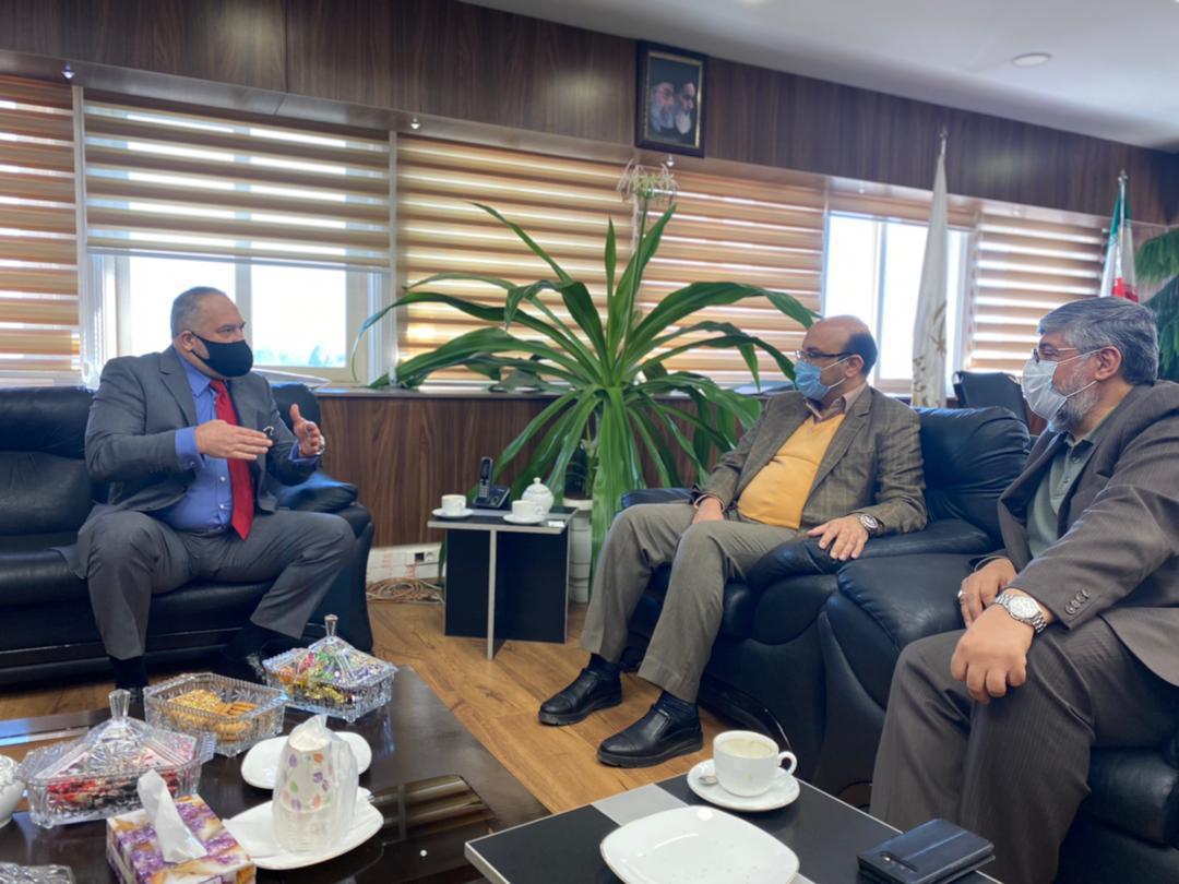 Слави Бинев на важна среща със зам.-министъра на спорта на Иран