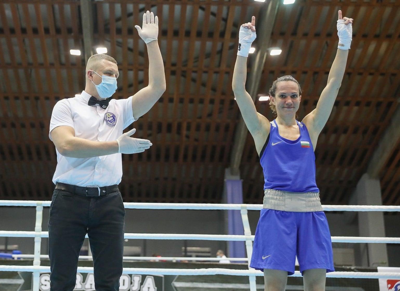 Станимира Петрова първа от българите на ринга днес