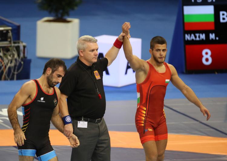 Микяй Наим на полуфинал на Европейското