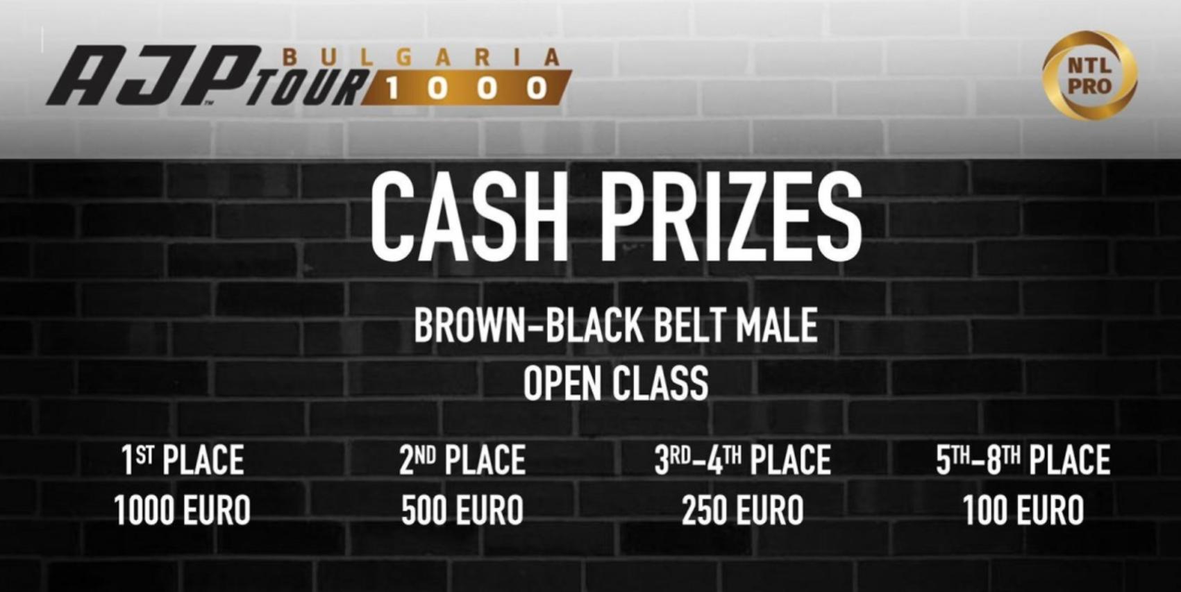 Парични премии за най-добрите на състезанието от веригата AJP в Бургас