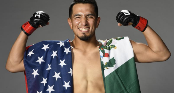 Непобеденият в UFC Янез влиза в октагона отново