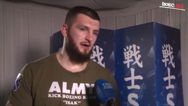Ахмед Крънич след SENSHI 7: Срещата беше трудна (ВИДЕО)