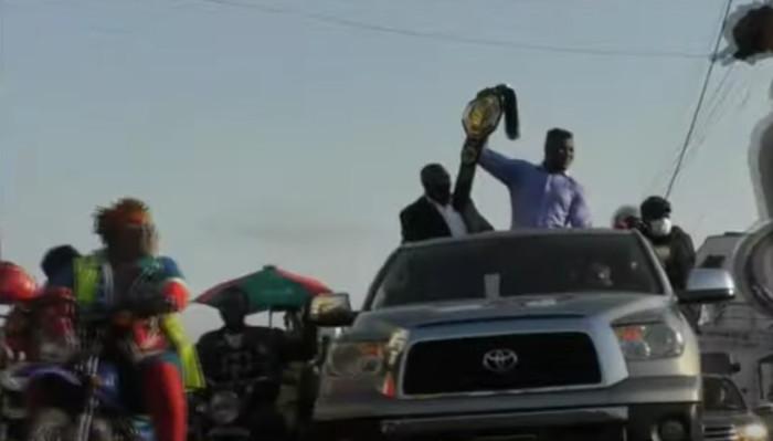 Царско посрещане за Франсис Нгану в родния му Камерун (ВИДЕО)