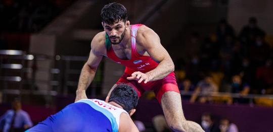 Иран спечелиха и свободния стил на Азиатския шампионат по борба