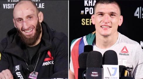 Пренасочиха сблъсък на двама непобедени в UFC бойци