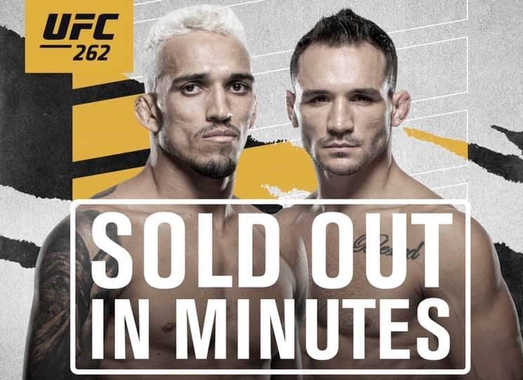 За няколко минути разпродадоха билетите и за UFC 262