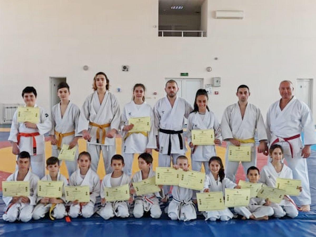 Деца от Бургас с пето място на Световно първенство по джу джицу