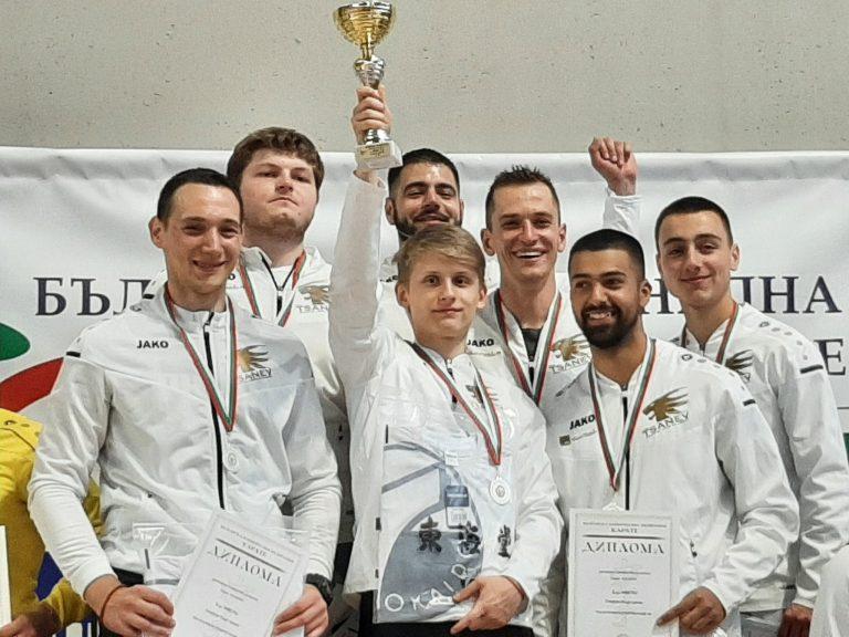 """Клуб """"Цанев"""" отново ликува с титлата в олимпийското карате"""