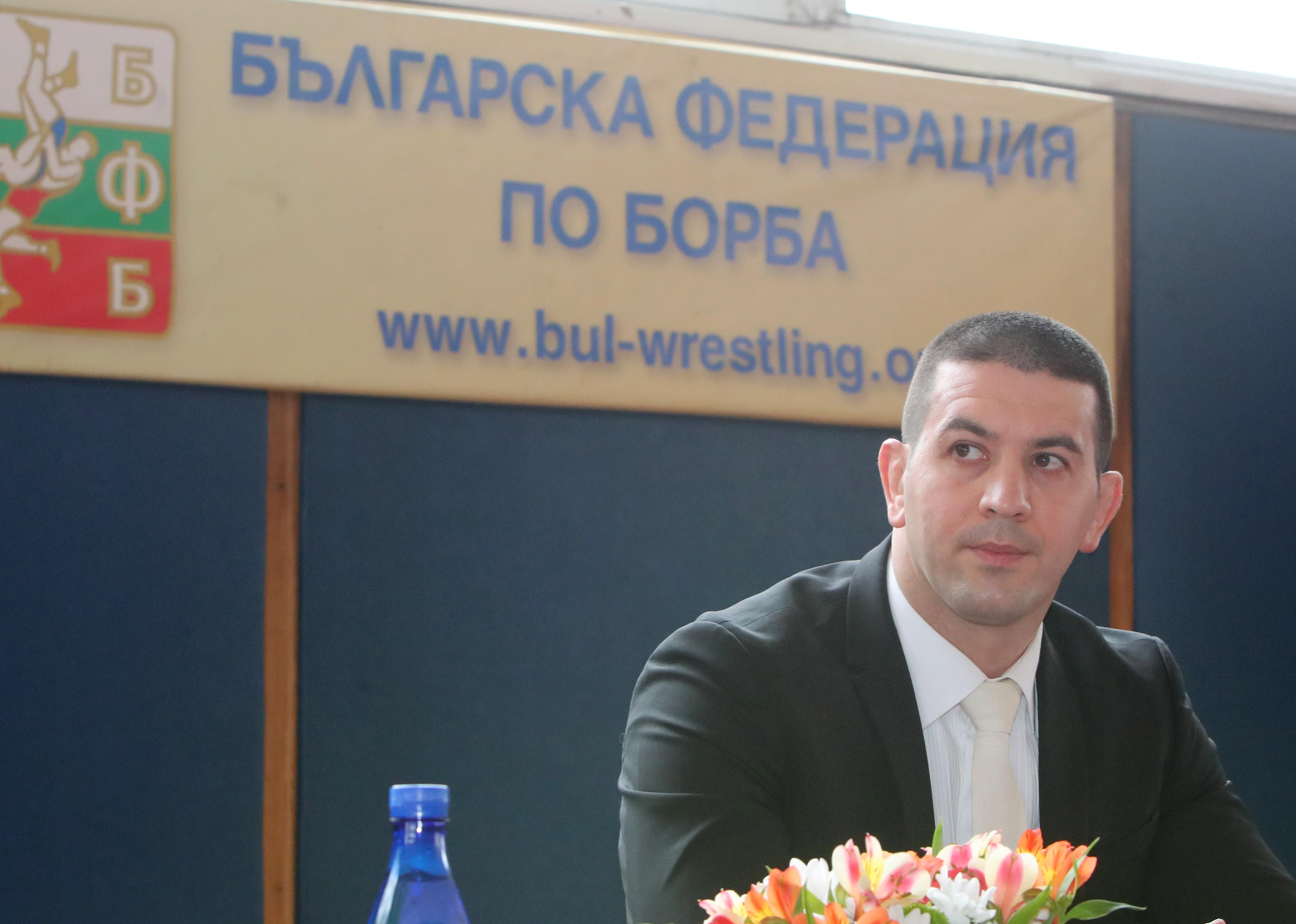 Христо Маринов остава президент на федерацията по борба