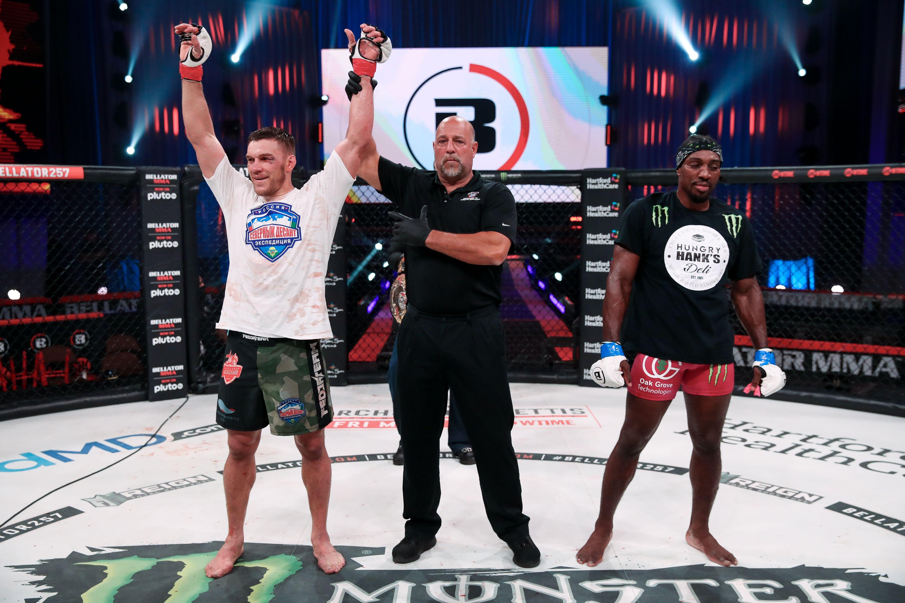 Вадим Немков защити успешно титлата си в Белатор