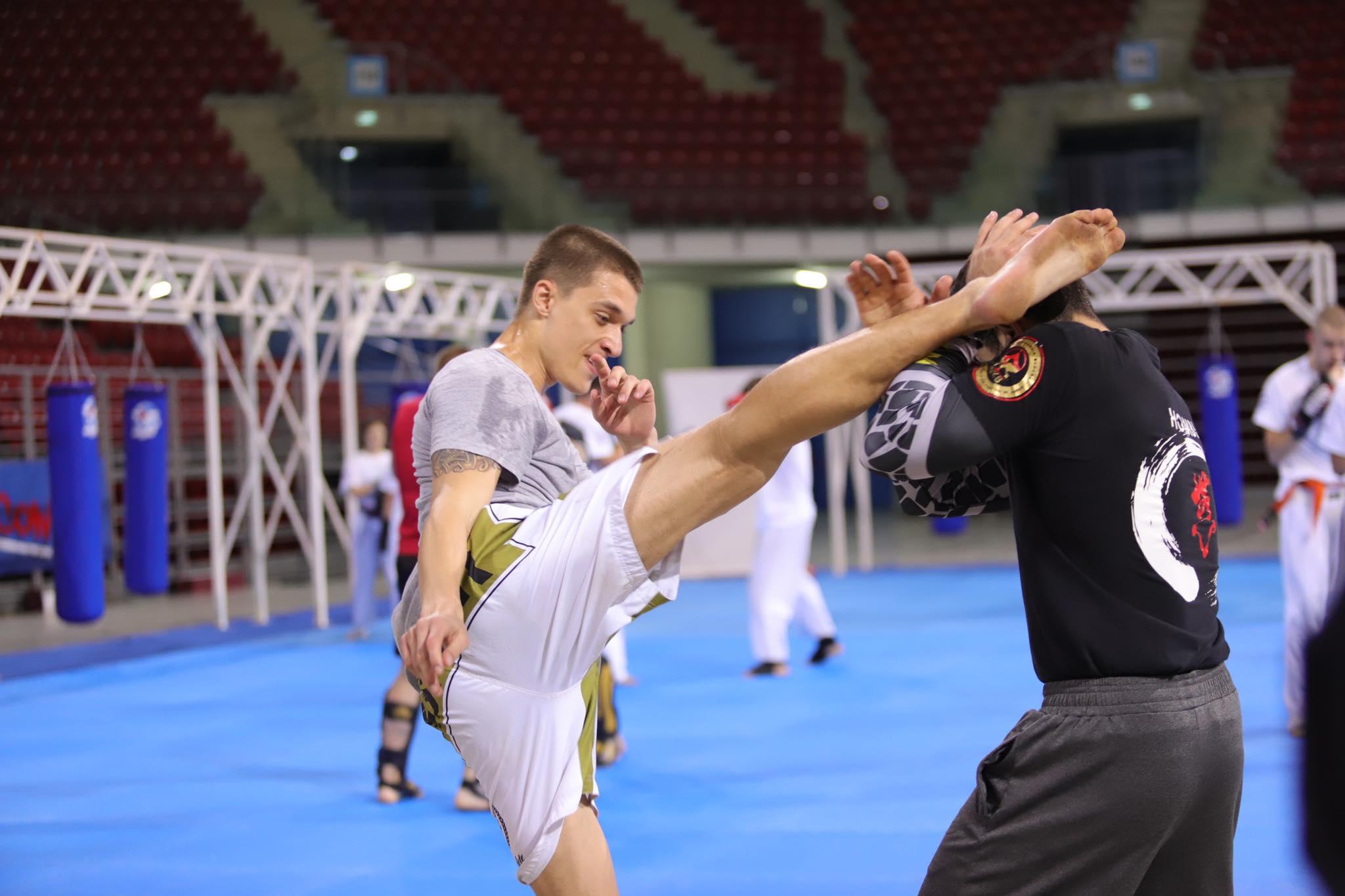 Украински киокушин умения в Ден 3 от лагера на Професионалната лига