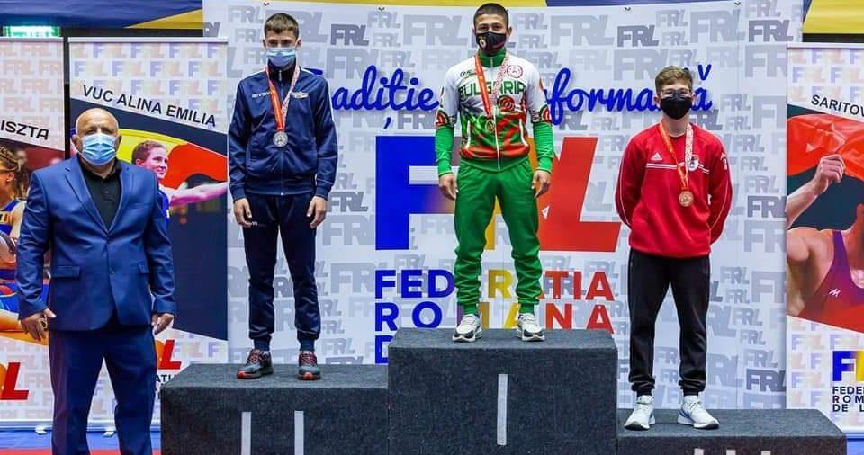 Кадетите ни спечелиха 14 медала на международен турнир по борба