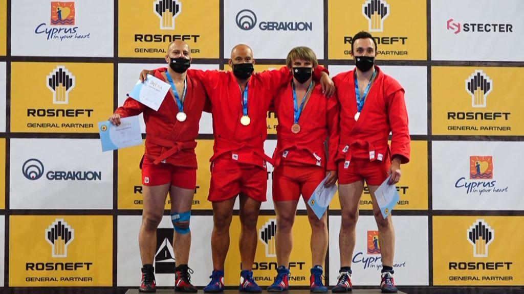 България с два сребърни медала от Европейското по бойно самбо
