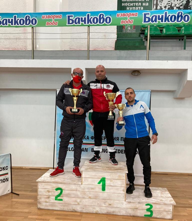 Локомотив София със златото от Ботевград