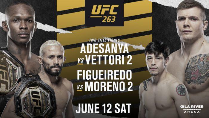 Пълна бойна карта на UFC 263