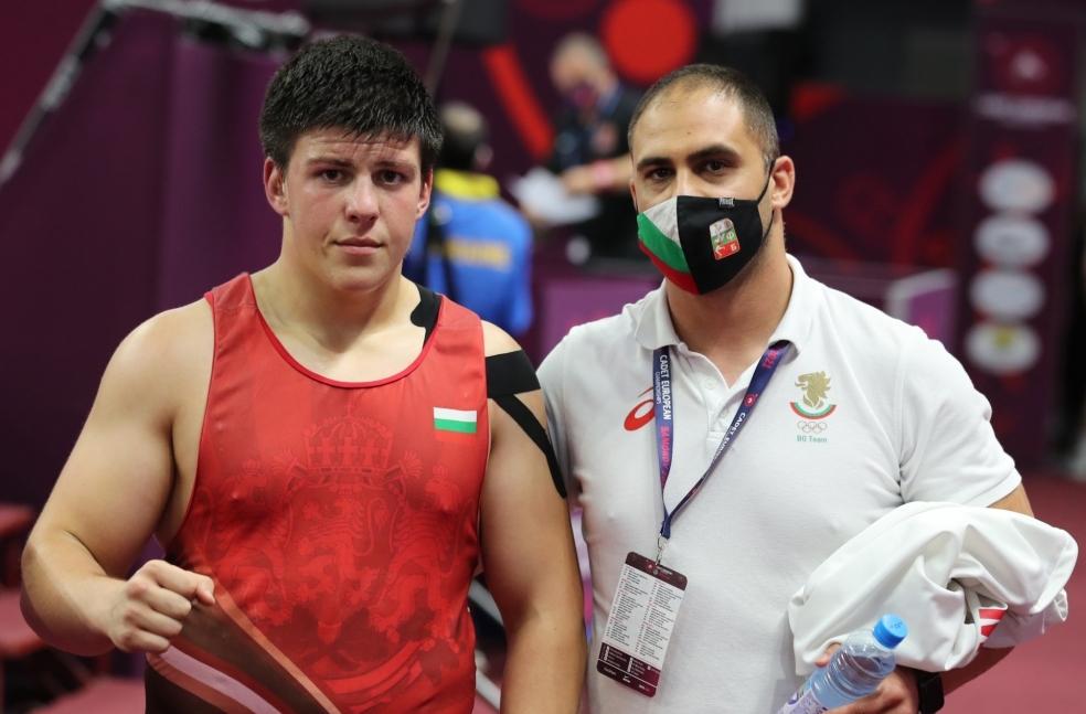 Сали Салиев на финал на Европейското