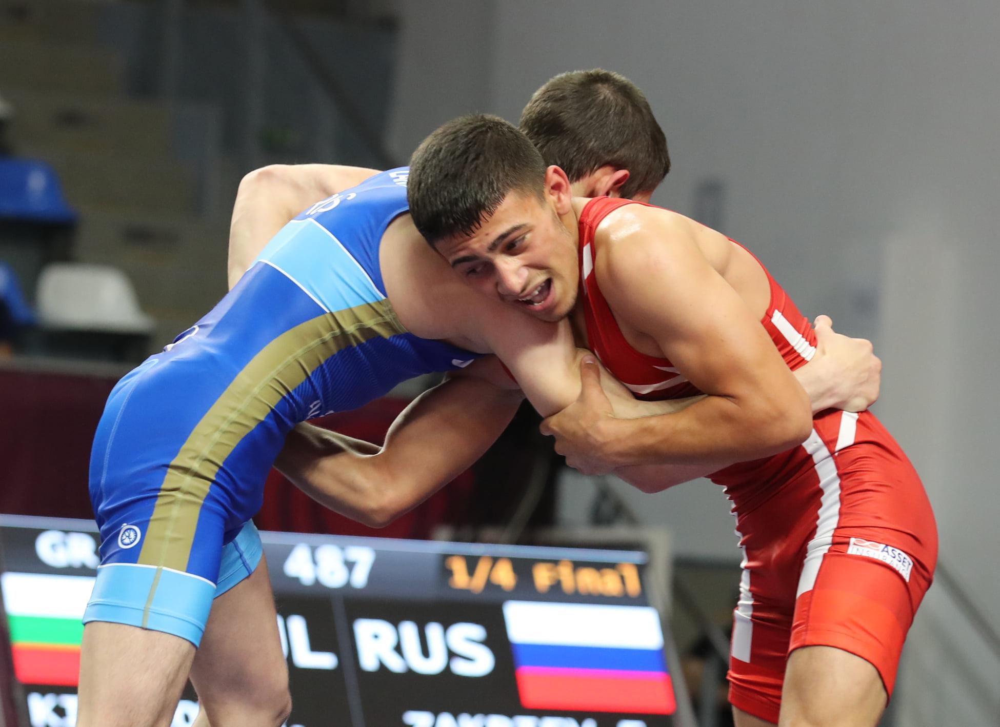 Борислав Кирилов на финал на Европейското