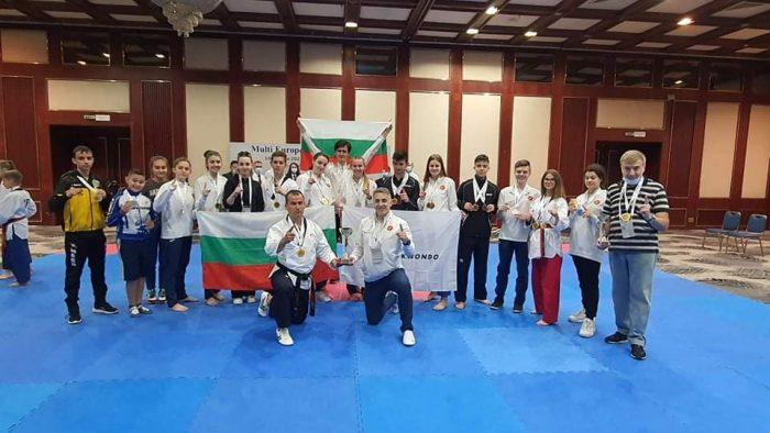 България спечели отборната титла по пумсе на Мултиевропейското