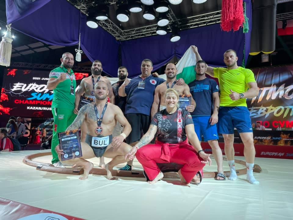 Четири медала за България от Европейското по сумо (ВИДЕО+СНИМКИ)