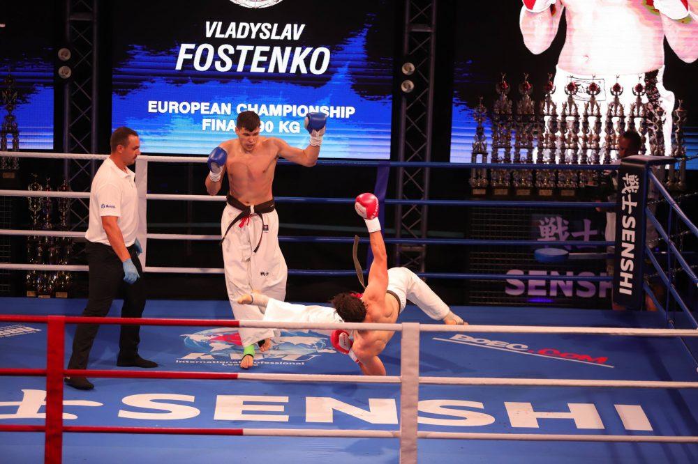 Владислав Фостенко с категорична победа на SENSHI 9