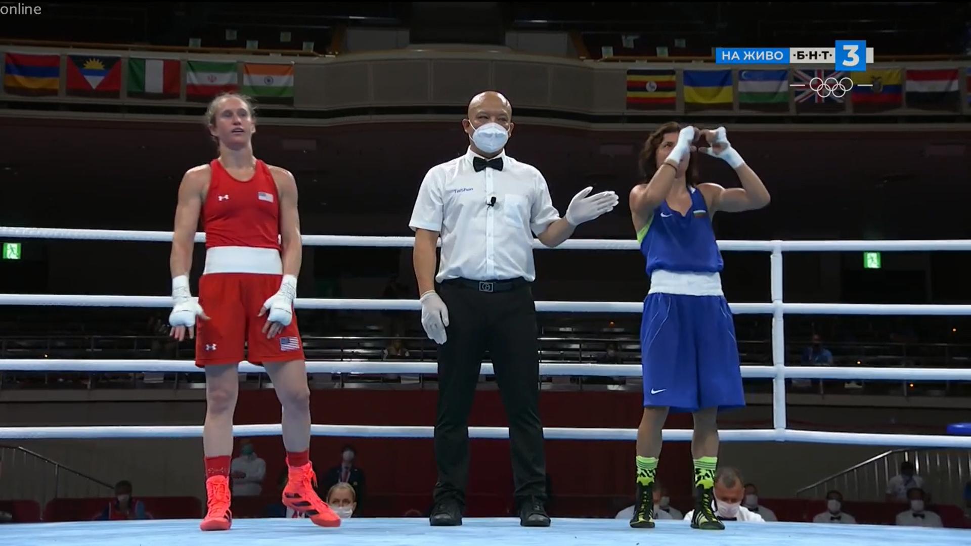 Прекрасно! Стойка Кръстева с нова стъпка към медалите в Токио