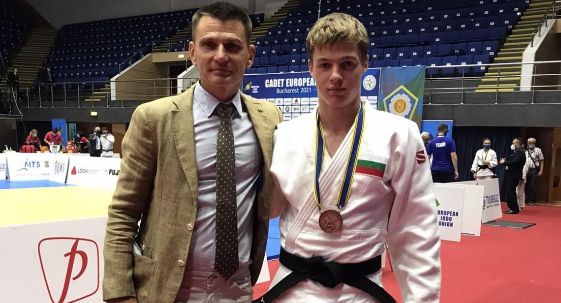 Боян Йотов взе бронз на Европейската купа по джудо