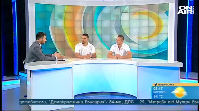 Николай Йоргов и Кристиян Дойчев – дисциплина, уважение и постоянство (ВИДЕО)