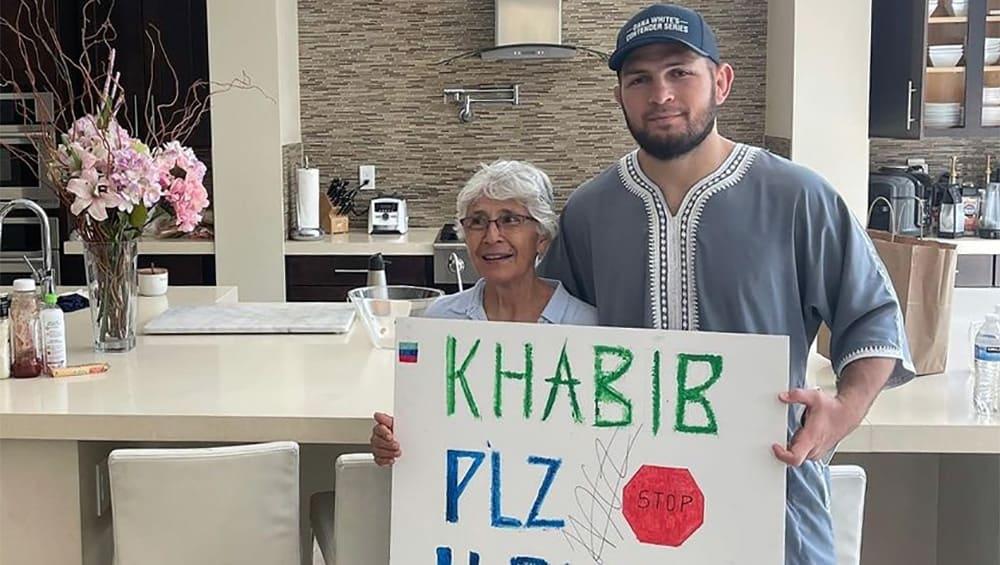 Хабиб изпълни мечтата на 66-годишна фенка на ММА