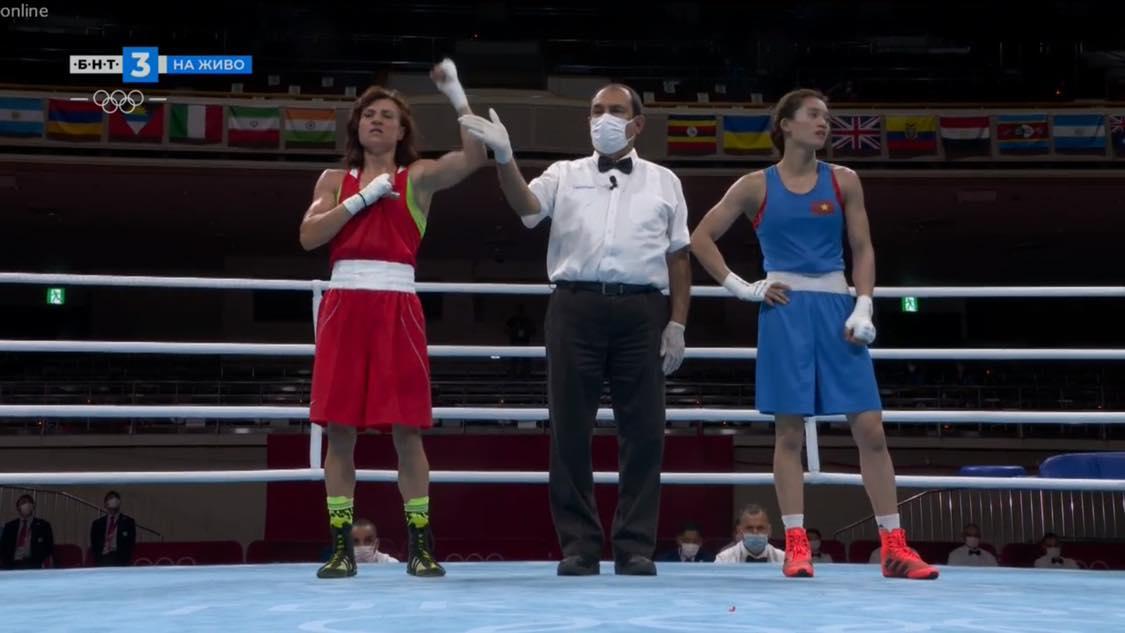 Стойка Кръстева се изстреля на 1/8-финалите в Токио