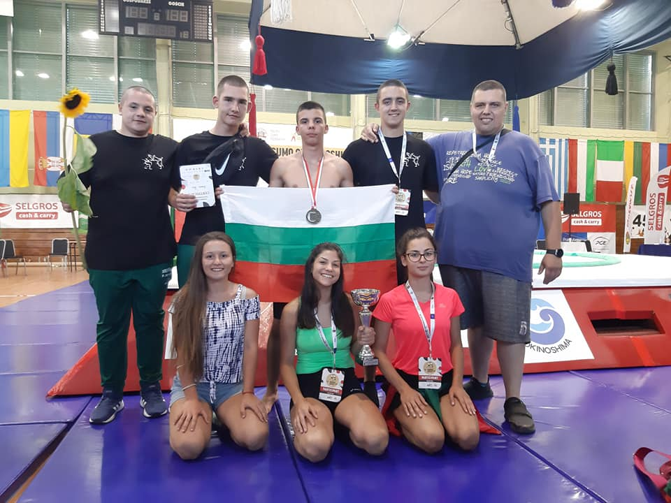 Титла и общо три медала за България от Европейското по сумо в Полша
