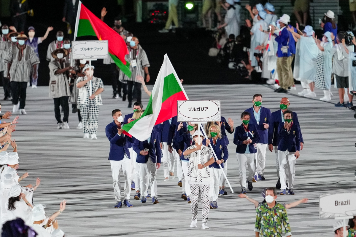 Българският флаг се развя на Игрите
