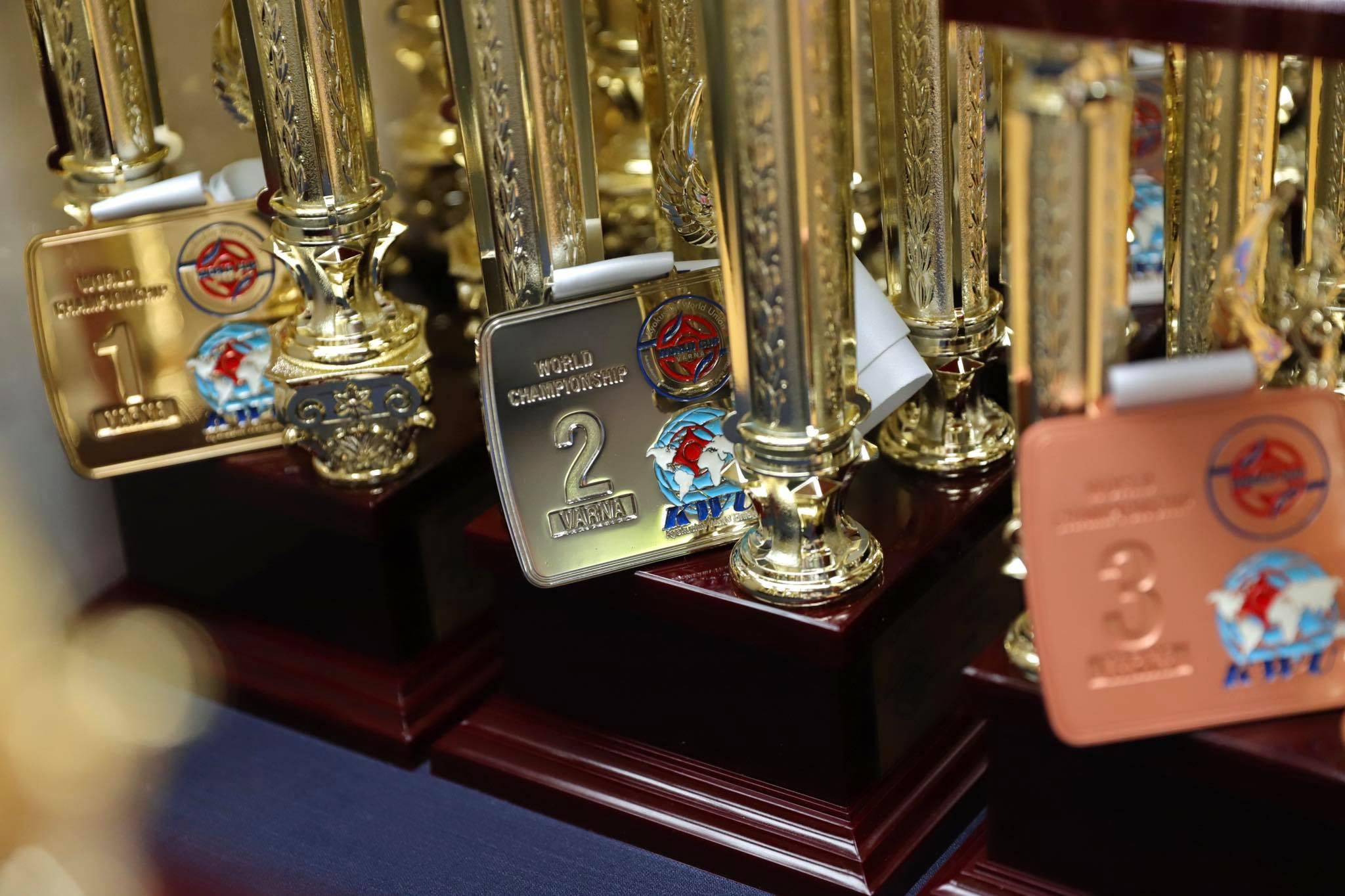 България в топ 3 по медали от Световната купа на KWU в Камчия