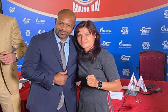 Стойка Кръстева чества Международния ден на бокса в Белград