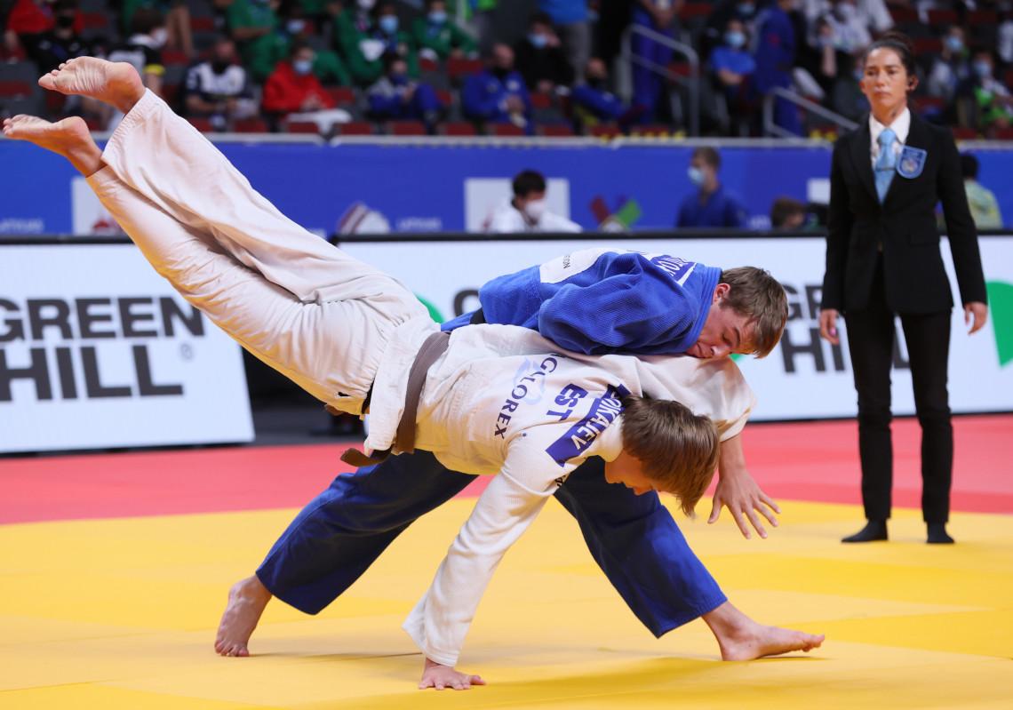 Боян Йотов остана девети на Европейското по джудо за кадети