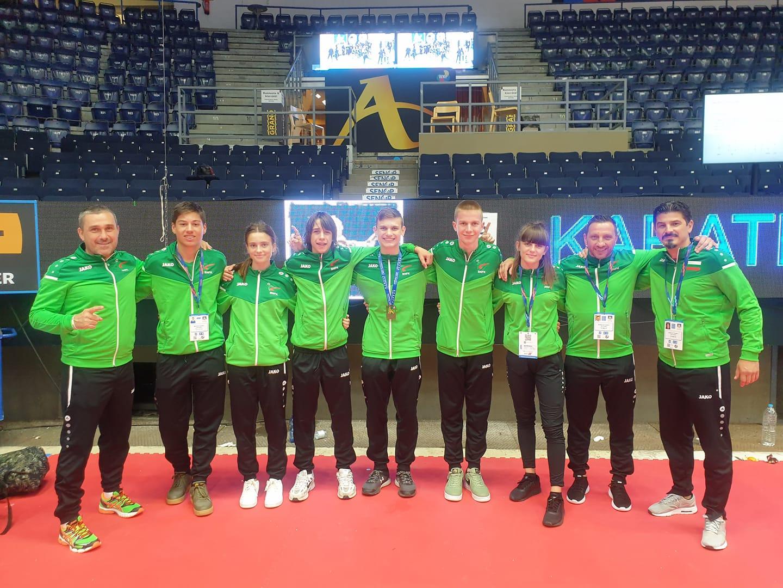 Бронзов медал за България в първия ден на Европейското по карате