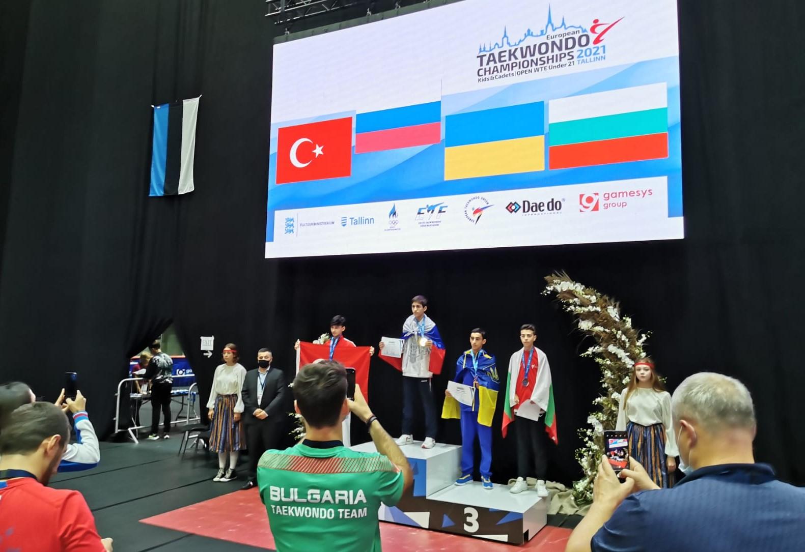 Медал за България от Европейското по таекуондо (ВИДЕО)