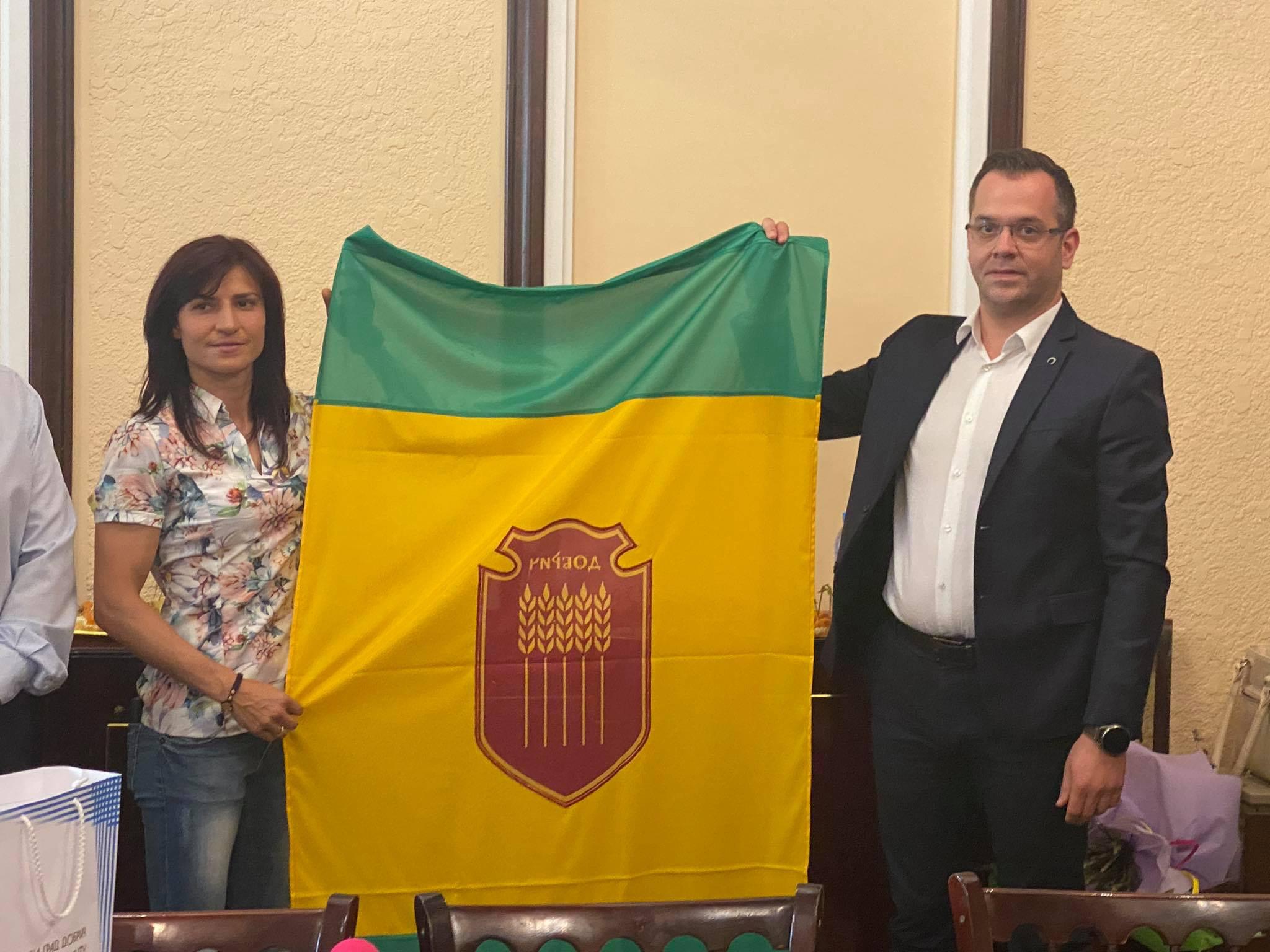 Стойка Кръстева се завърна като герой в родния си Добрич