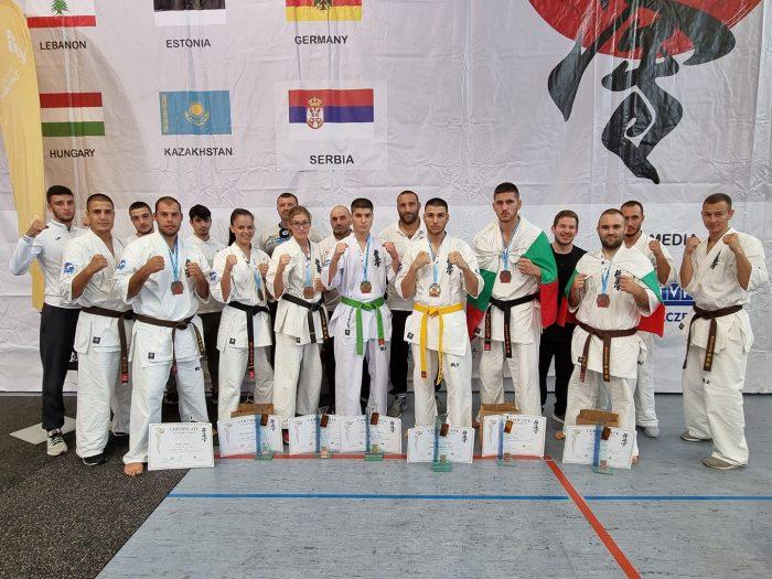 Още 7 медала за България от Европейското по карате киокушин